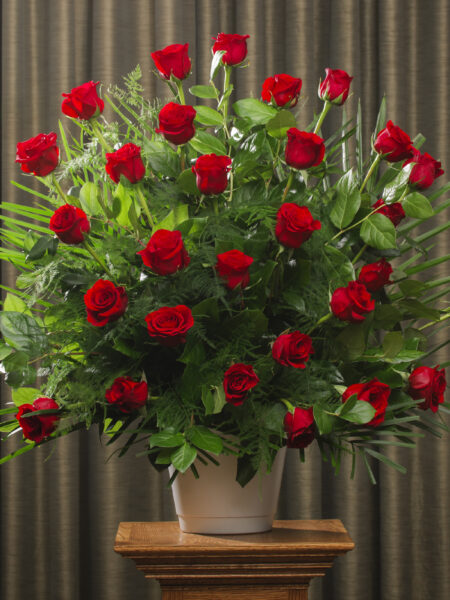 BOUTIQUE FUNERAL ROSES 30 FREEDOM