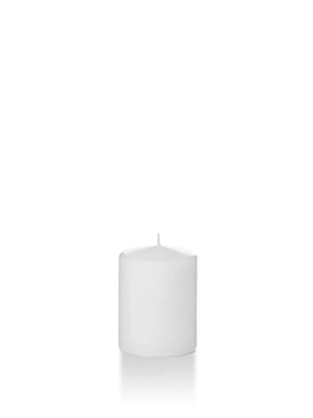 "Candle Pillar White 2.25""X3"""