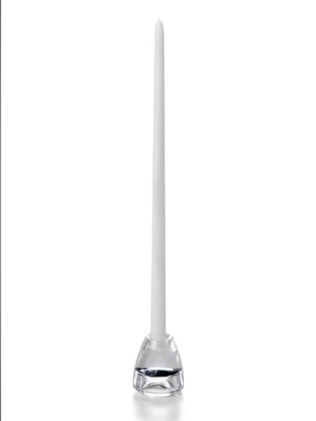 Candle Taper White 18""