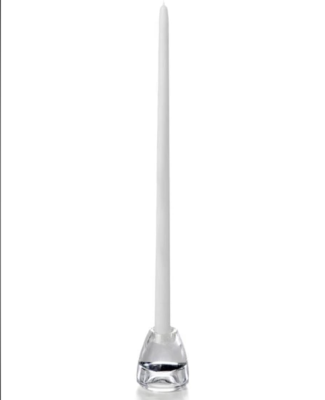 """Candle Taper Ivory 18"""""""