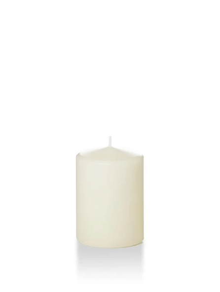 "Candle Pillar Ivory 2.8""X4"""